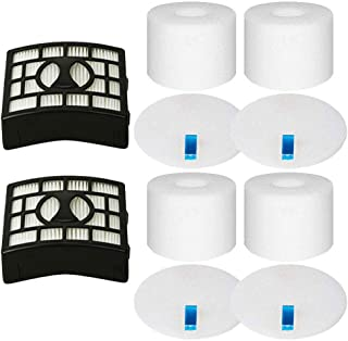 Wolfish Replacement Filter for Shark Rotator DuoClean Powered Lift Away Speed Vacuum NV680, NV681, NV682, NV683, NV800, NV801, NV803, UV810, 2 HEPA + 4 Foam & Felt Filters, Replace Part XFF680 XHF680