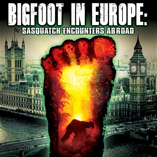 Bigfoot in Europe audiobook cover art