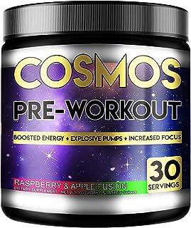 Perihelion näring kosmos förträning 30 portioner 330 gram energidryck med koffein + kreatin (Raspberry & äpple)