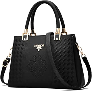 Ladies Stylish Beautiful Pocketbook and Handbag - Fashion Leather Purse - Shoulder Bag - Crossbody Bag -Messenger Bag