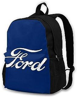 Classic Car Logos-Ford Adult Classic - Mochila para exteriores, color negro