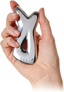 FDA-Cleared Class 1 Medical Device | Pause Fascia Stimulating Tool | Improves the Overall Look & Feel of Skin on Face, Neck, Chest, Improves Elasticity & Improves Blood Flow