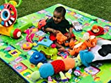 Paramount 100% Waterproof, Anti Skid,Double Sided Baby Play & Crawl Mat (6'X5' Feet)