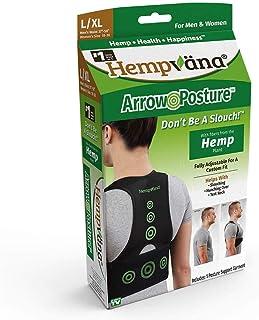 عقب جلو عقب پشتی Hemvvana با استفاده از Hemvana - پشتیبانی کامل از حالت ایستاده و تنظیم کننده وضع حمل برای بدن بالا - به صحیح شل شدن ، گردن متن و شکار بیش از حد کمک می کند - L / XL