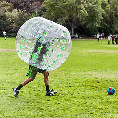 FGHGFCFFGH Outdoor Sport Human Knocker Inflatable Bumper Bubble Soccer Zorb Ball for Adult Collision Body Suit Running Sport Family Game