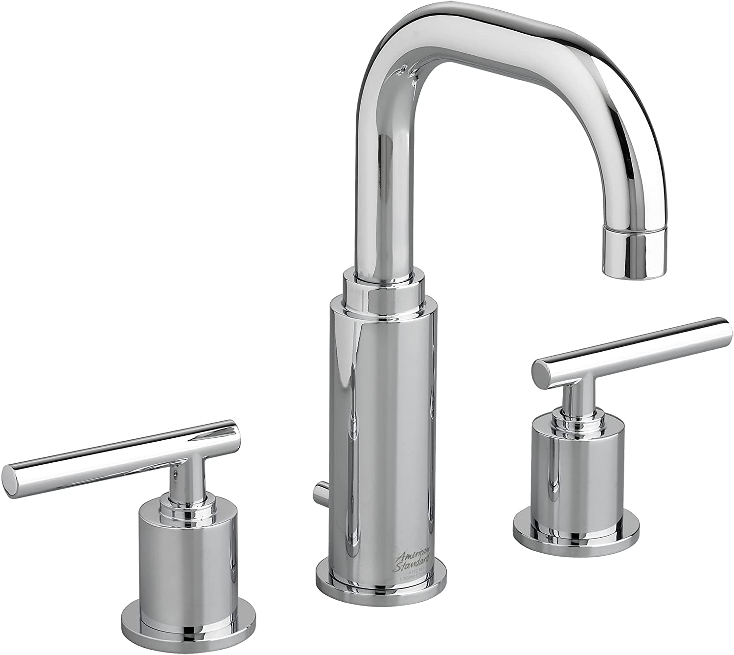 Amazon Com American Standard 2064831 002 Serin Widespread High Arc Bathroom Sink Faucet With Metal Pop Up Drain Polished Chrome Everything Else