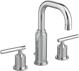 American Standard 2064831.002 Serin Widespread High-Arc Bathroom Sink Faucet with Metal Pop-Up Drain, Polished Chrome