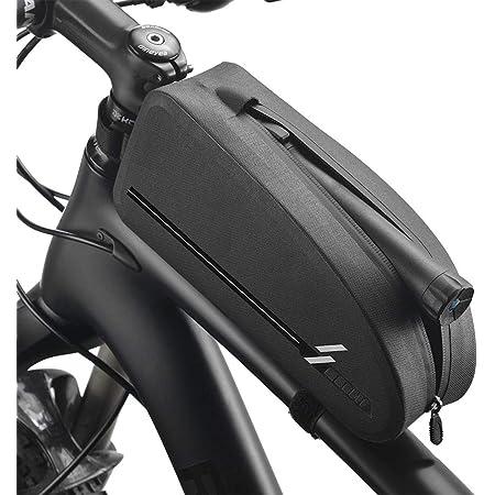 basku Borsa Telaio Bici Impermeabile Borsa per Biciclette Custodia con Cornice a Sella Triangolare Riflettente Rifornimenti di Riciclaggio di Guida per Bici//MTB//BMX//Bici Corsa ECC