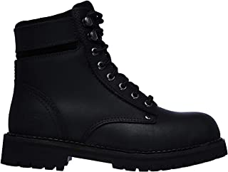 Skechers Work Brooten ST Womens Steel Toe Ankle Boots Black/Black