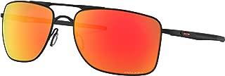 Oakley Gauge 8 Medium Sunglasses Matte Black with Prizm Ruby Lens