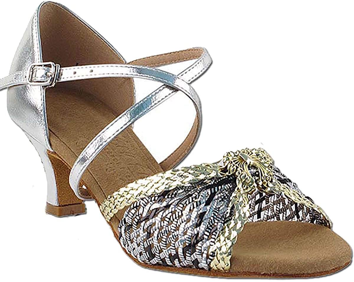 Women's Ballroom Dance Shoes Salsa Latin Practice Shoes S92309EB