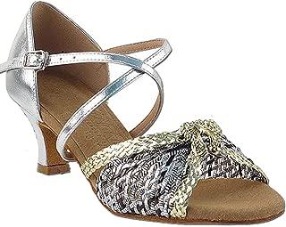 Women's Ballroom Dance Shoes Salsa Latin Practice Shoes S92309EB Comfortable-Very Fine 2