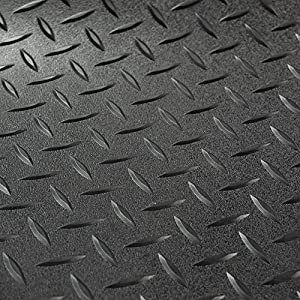 RecPro Diamond Plate Pattern Rubber Flooring for RV