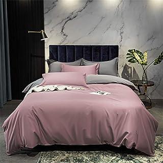 Dekbedovertrekken, Herfst En Winter Licht Luxe Solid Color Vierkoppige Puur Katoen Dikke Warme Bed Bedding Naked Sleep Sim...