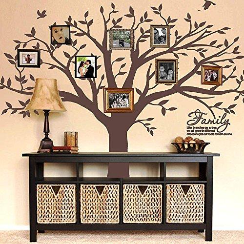 MAFENT Wandtattoo mit Familienstammbaum-Zitat