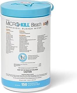 Medline MSC351400AN Micro-Kill Bleach Germicidal Bleach Wipes, 7