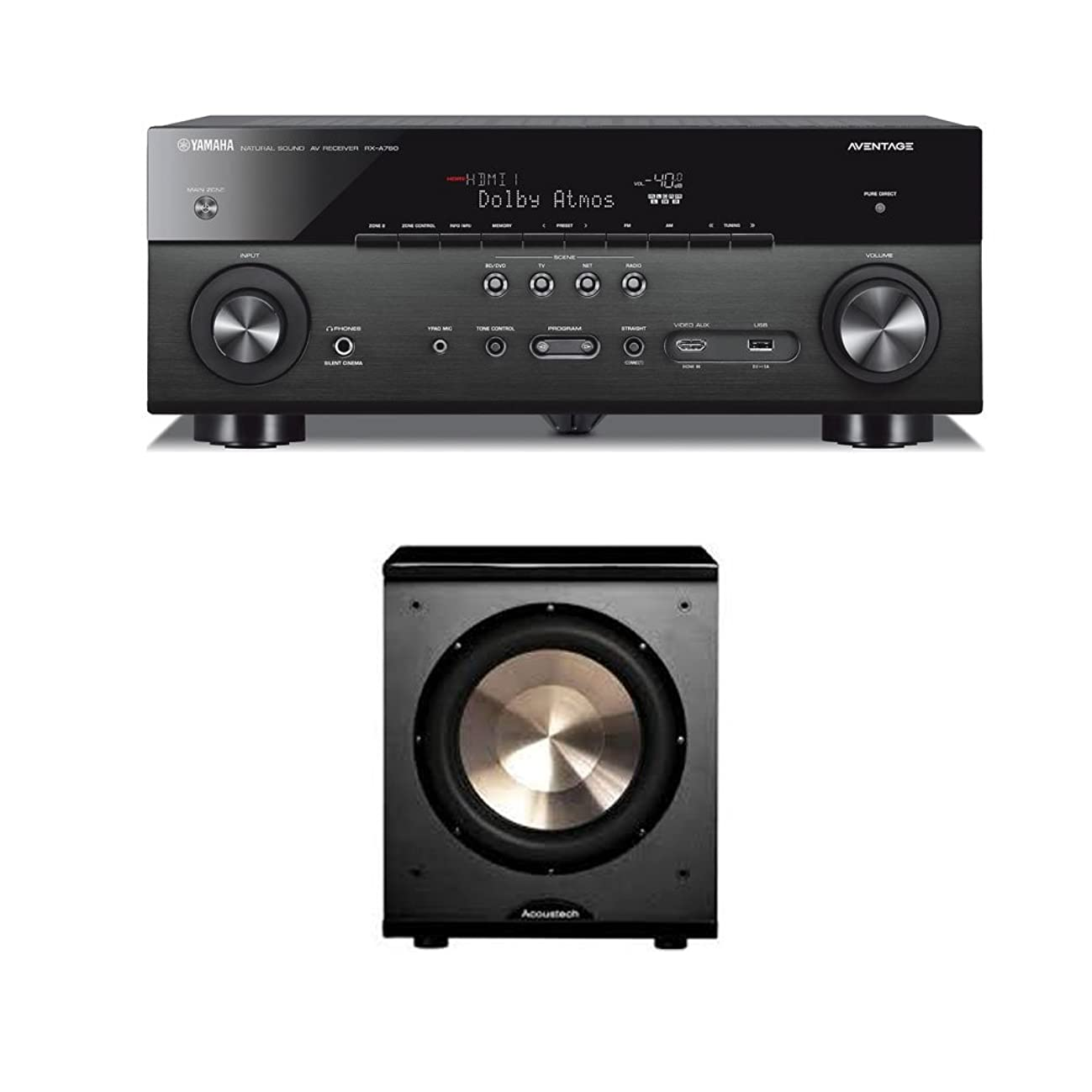 Bic Acoustech PL-200 With Yamaha Aventage RX-A760 Receiver