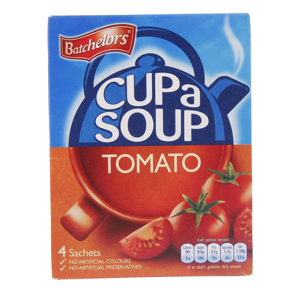 5 ☆ very popular Original Batchelors Cup a Financial sales sale Soup Tomato From The UK Engla Imported