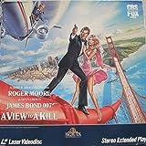 JAMES BOND 007: A VIEW TO A KILL starring ROGER MOORE - TANYA ROBERTS - GRACE JONES - PATRICK MACKNEE - CHRISTOPHER WALKEN