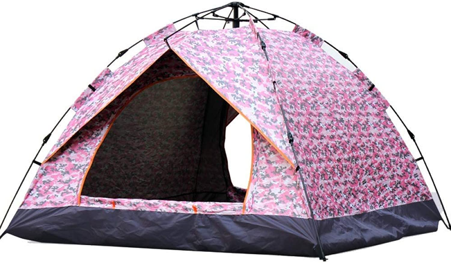 Outdoor Camping Tent 34 People Ultra Light Portable Sunscreen Waterproof Camping Tourism Beach Holiday Picnic Park Lawn 2 Patterns Available (color   B)