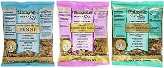 Tinkyada Organic Gluten-Free Brown Rice Pasta 3 Shape Variety Bundle, Elbow, Spirals, Penne Pasta, 12 oz