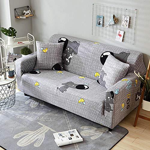 fundas de sofá,asiento de amor,Funda de sofá elástica, fibra de poliéster elástica spandex 1/2/3/4 sofá de asiento, funda de sofá funda de protección para muebles de sala de estar-Color 15_90-140cm