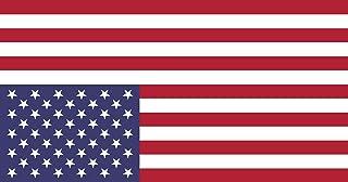 magFlags Large Flag United States Vertically Flipped | Degli Stati Uniti riflessa verticalmente Come Sulla copertina del L...