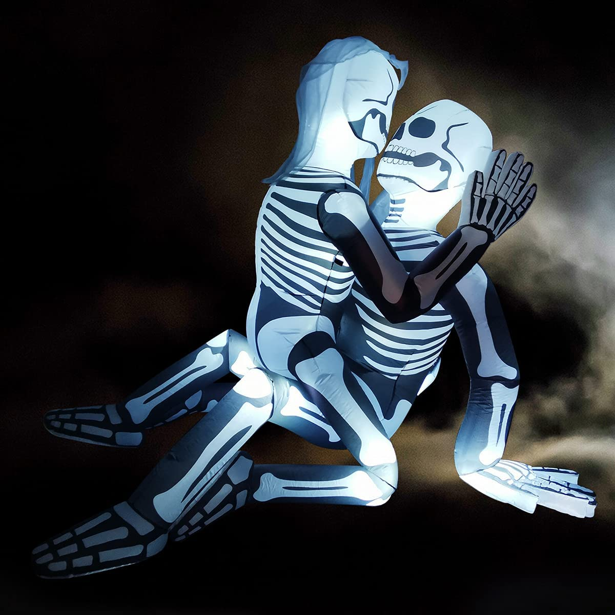 GOOSH 5.5 FT Halloween Inflatable Skeleton Challenge the lowest price of Japan Couple Lovers trend rank Outdoor