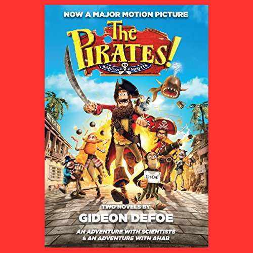 The Pirates! Band of Misfits (Movie Tie-in Edition) audiobook cover art