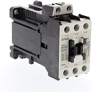 Fuji Electric, SC-E02/G-24VDC, Magnetic contactor, Straight Wire Connection, 20A, 24V DC
