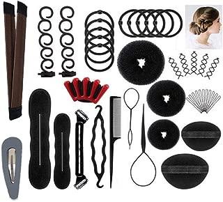 Hair Styling Accessories Kit Set for DIY,Magic Simple Fast Spiral Hair Braid Hair Tool,Hairdresser Design Kit
