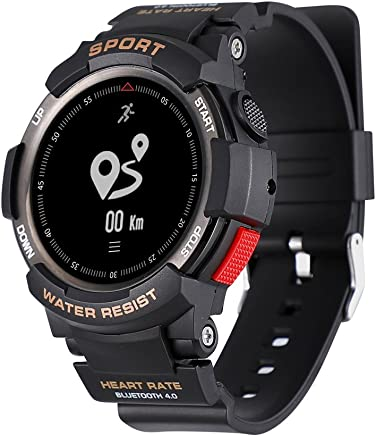 c74cf5054078 1 F6 Reloj Inteligente IP68 resistente al agua Bluetooth reloj