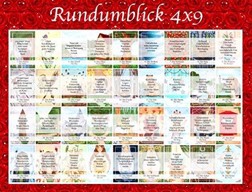 Legeschablone Rundumblick 4x9
