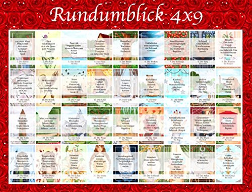 Legeschablone Rundumblick 4x9