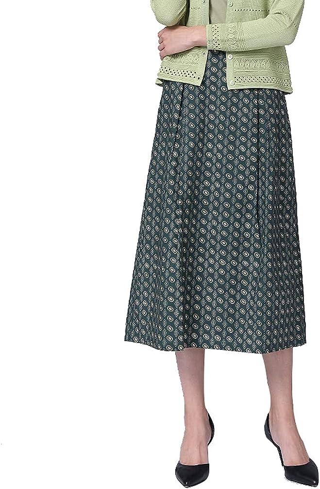 Women's midi Skirts Straight Down Pocket Skirt Summer Skirt Green Skirt