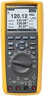 Fluke 289 True-RMS Stand Alone Logging Multimeter with a NIST-Traceable Calibration Certificate with Data