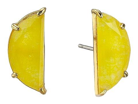 Kate Spade New York Half Moon Mini Scallop Studs Earrings