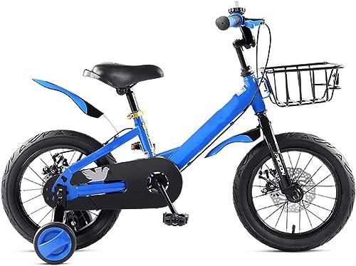 YTBLF Bicicletas para Niños y niñas, Bicicletas para Niños bebés 14 16 18 Pulgadas, Dan Regalos Que los Niños Puedan equilibrar Las Bicicletas. Adecuado Niños de 3-5-6-8 años.
