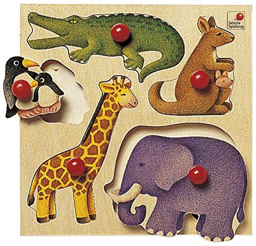Selecta 62046 Puzzle Zoo