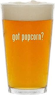 got popcorn? - Glass 16oz Beer Pint