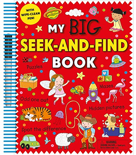 My Big Seek-and-Find Book: with wipe-clean pen!