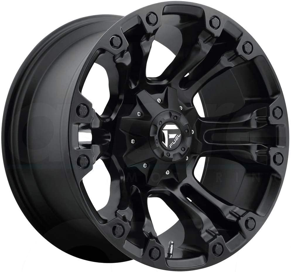 Fuel Offroad D560 VAPOR BLACK Wheel Bargain 17 x 6 135 9. inches mm Free Shipping New