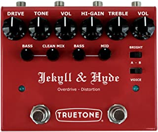 Truetone V3 Jekyll & Hyde Overdrive & Distortion Guitar Effects Pedal