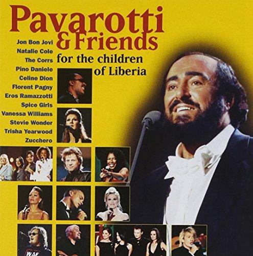Pavarotti and Friends for the Children of Liberia by Luciano Pavarotti, Celine Dion, Eros Ramazotti, Zucchero, Stevie Wonder, Trisha (2004) Audio CD