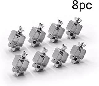 Peky Butt Welding Clamps,Butterfly-shaped Clip Sheet Alignment Positioner Straight,Weld Sheet Metal Auto Car Door Skin Panel Fender (8PC)