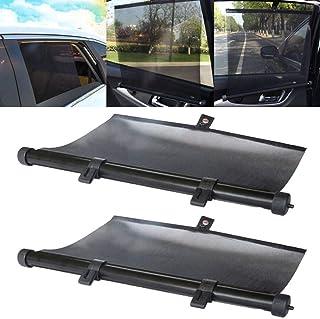 Hanbaili Car Windshield Sun Shade Retractable Curtain Window Sunshade,Sun UV Rays Protection for Baby Kid and Pet,Fit Most Sedans SUV