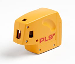 Pacific Laser Systems PLS 5-Beam Laser Level with Cross Line Laser System with SLD Detector PLS-60542