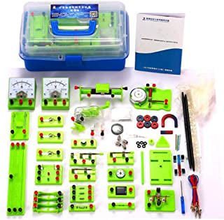 Physics Science Lab Basic Circuit Learning Starter Kit Electricity And Magnetism Experiment for Kids Junior Senior High Sc...