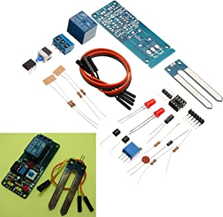 Desconocido Generic 5pcs DIY 12V Automatic Watering Module Kit Soil Moisture Sensor with Time Delay