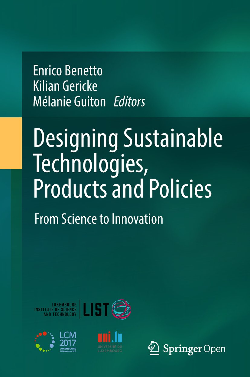 Image OfDesigning Sustainable Technologies, Products And Policies: From Science To Innovation (English Edition)